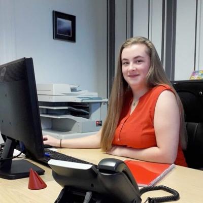 Megan French Juinior Recruitment Administrator